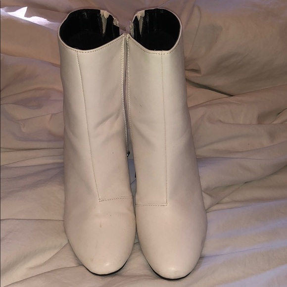Shoes - Target white boots